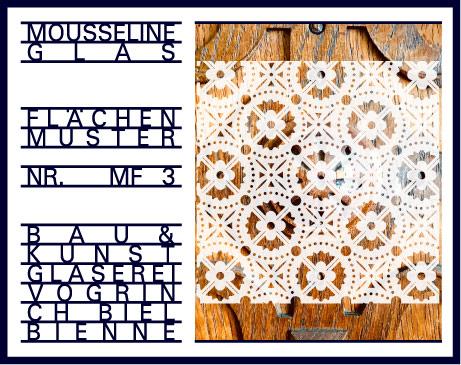 Musselinglas M3