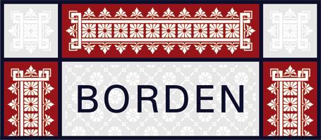 Musselinglas - Borden - Mousselineglas